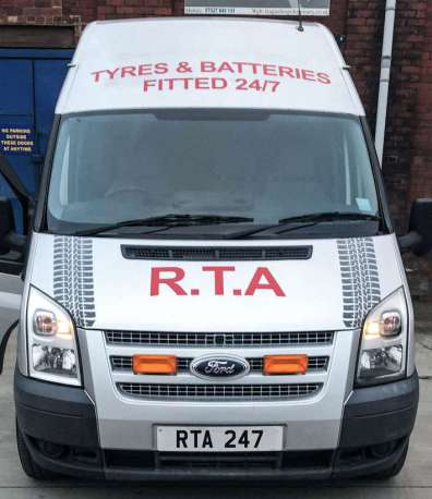 RTA 24 Hour Mobile Tyre Fitting